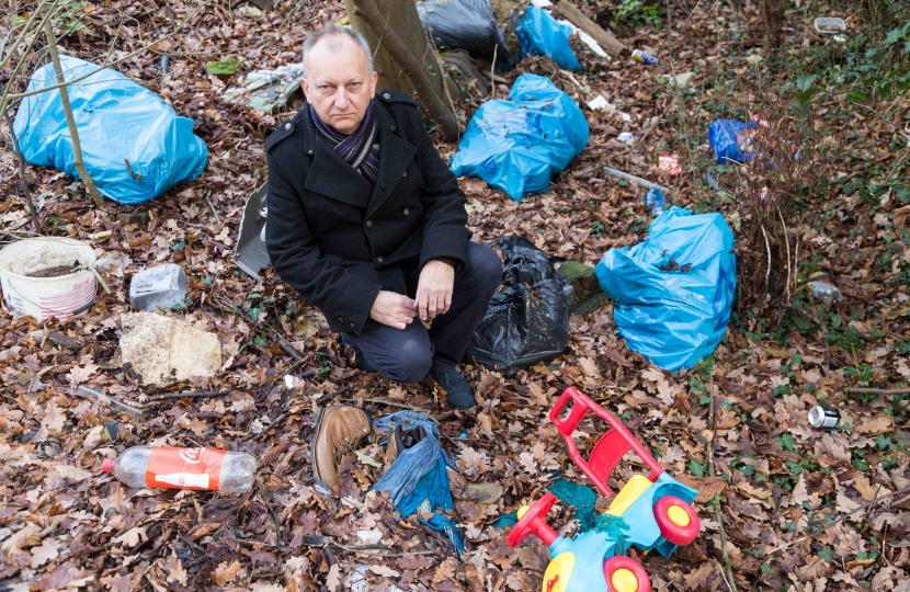 Fly-tipping in minster